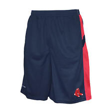 Boston Red Sox Mens Navy/Red Performance Athletic Team Shorts: L-2XL