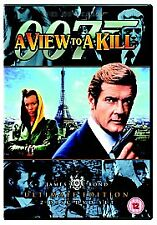 James Bond - A View to A Kill (Ultimate Edition 2 disc dvd set) Roger Moore