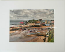 """""""Tenby in April""""  Limited Edition Mounted Photographic Print 14x11 8x6"""