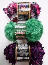 Bernat Feather Boa Yarn~3 color choices~Great for hats & scarves~3.5oz #5 bulky