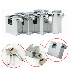 Steel Padlocks Chain Pad Lock for Heavy Duty Shipping Container Garage Case/Box