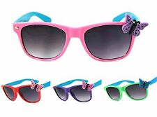 COOL KIDS SUNGLASSES CHILDREN GIRLS AGE 3 UP ELLA BUTTERFLY FRAME PINK RED PURPL