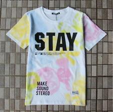 Top Sale Ape Men's Stayreal Fashion Stay Letters Design Cotton Blend MMJ T-Shirt