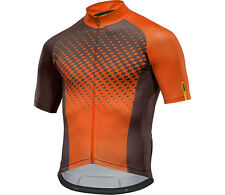Mavic Crossmax XM Elite Short sleeve Cycling jersey MTB/BIKE brown orange 2017