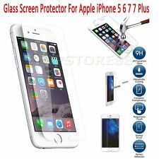 A variety of Tempered Glass Front Film Screen Protector for Apple iPhone