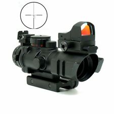 4X32 Hunting Tactical Rifle Scopes Optics Sight Gun Red Dot  Rifle Scope Outdoor