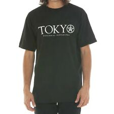 Obey 'Time Zone Tokyo' T-Shirt Black,Size S,100% AUTHENTIC OBEY CLOTHING,BNWT