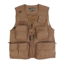 Multi-pocket Photography Mens Vest Outdoor Fishing Waistcoat Hunting Jackets