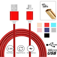 2.4A Micro USB Charging Cable Strong Magnetic Adapter For Samsung Android 3FT/1M