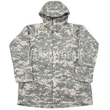 US Army Military Improved ACU Rainsuit Wet Weather Rain Jacket Parka Coat ORC GI