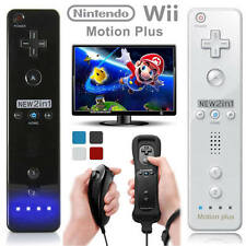 Joypad Remote and Nunchuck Controller+Case for Nintendo Wii&Wii U Gamepad