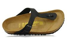 BIRKENSTOCK GIZEH Black ALL SIZES New Arizona Black or White All Sizes New bb