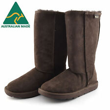 Classic Tall Premium Sheepskin UGG Boots - Chocolate Australian Made *CLEARANCE*