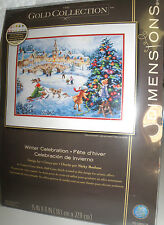 """Dimensions Gold Collection Counted Cross Stitch Kits 16""""x12"""" Many Variations"""