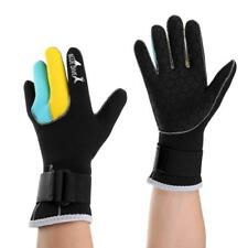 1 Pair 3mm Neoprene Pimple Palm Scuba Diving Gloves Warm Snorkeling Freediving