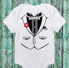 Baby Boy Tuxedo - Tux Funny Onesie - Cute- Boy Bodysuit Clothes - Newborn Infant