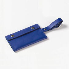 Clava Wrap Snap Leather Luggage Tag
