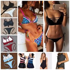 Summer fashion bikini sexy ladies lovely color colorful beach swimsuit swimwear