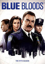 Blue Bloods: The Fifth Season (DVD, 2015, 6-Disc Set) Brand New - Factory Sealed