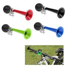 Metal Bike Air Horn Alarm Bell Ring Bicycle Metal Bugle Squeeze Rubber Bulb
