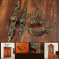 Vintage Cabinet Wardrobe Drawer Door Pulls Handles Bronze Antique Cupboard Knobs