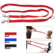 Nylon Dog Leash Hands Free 2 ways Coupler Leash for Dog Travel Outdoor Walking