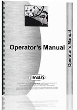 New Holland BH124 Backhoe Attachment Operators Manual