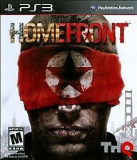 Homefront (Sony PlayStation 3, 2011) PS3 Complete Game EUC