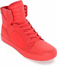 Supra Skytop Signature Chad Muska Mono Tuf Satin Skate Shoes