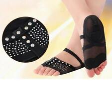 Belly Ballet Dance Toe Pad Foot/Feet Thong Protection Dance Socks Shoes S-XL