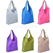 Foldable Reusable Eco Nylon Shopping Bag Grocery Bags Tote Handbag Large