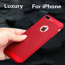 Ultra-thin Cooling Hollow Hard Back Case Cover Skin For iPhone 6 6S 7 Plus