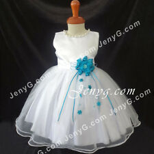 NLT7 Baby Toddler Holiday Graduation Formal Party Night Pageant Prom Dress Gown
