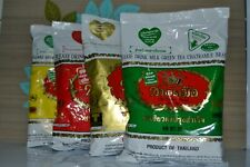 Number One Brand Thai Coffee / Green Tea Mix for Thai Iced / Cold Drink  400g.