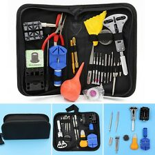 Pro Watch  Kit Case Set Link Opener Remover Holder Screwdriver Watch Repair Tool