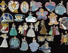 19 Disney Pin Pins Walt Disney World Disneyland CHOOSE: Cinderella