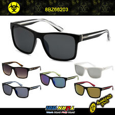NWT Biohazard Square Mirror Lens Men Women Retro Fashion Sunglasses 8Bz66159