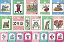 DMC TATTY TEDDY ME TO YOU BEARS COUNTED CROSS STITCH KITS COLLECTION 2015