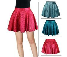 Hot Women's Fish scales Pattern Waist Skirt Dress Fashion 2Colors Pleated Skirt