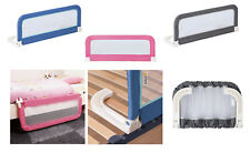 Baby Children Safety Bed Cot Fold Guard Portable Adjustable Compact Rail Bedrail