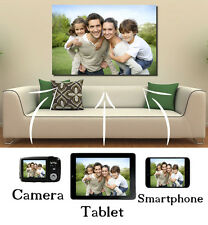 Your Photo Picture Image On Personalised Box Canvas READY TO HANG Multi Listing