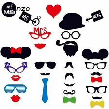 Tronzo Hot Sale Party Photo Booth Funny Glasses Moustache Christmas Birthday Par