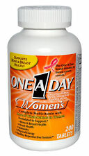 One-A-Day Women's Formula, 200 Tablets exp 1/2018