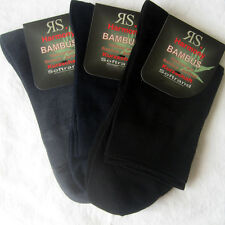 3 Pair Women's Bamboo Short shaft socks without elastic Soft rim 3 35 bis 42