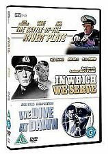 The Battle Of The River Plate/In Which We Serve/We Dive At Dawn [DVD]=free post