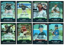 2004 Bowman Chrome Draft REFRACTOR Parallel Single Card BDP33-BDP64 Rookie Ref
