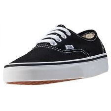 Vans Authentic Unisex Trainers Black New Shoes