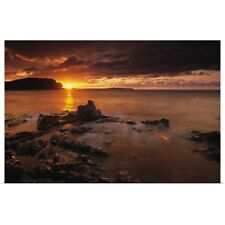 Poster Print Wall Art entitled Sunrise, Bonavista Peninsula Trinity Newfoundland