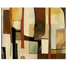 Poster Print Wall Art entitled Retro Abstract Art II