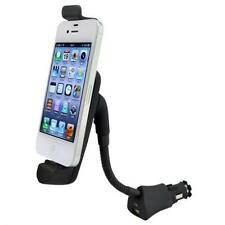 CAR MOUNT CHARGER PLUG HOLDER WITH USB PORT DOCK CRADLE for IPHONE 4 / 4S